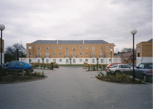 New housing, Southgate, North London